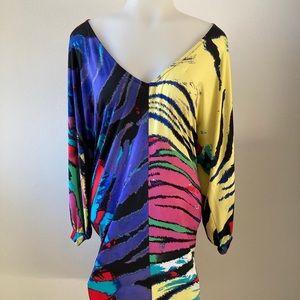 KARLIE multicolored dress